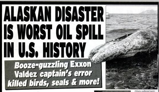 Exxon Valdez Headlines