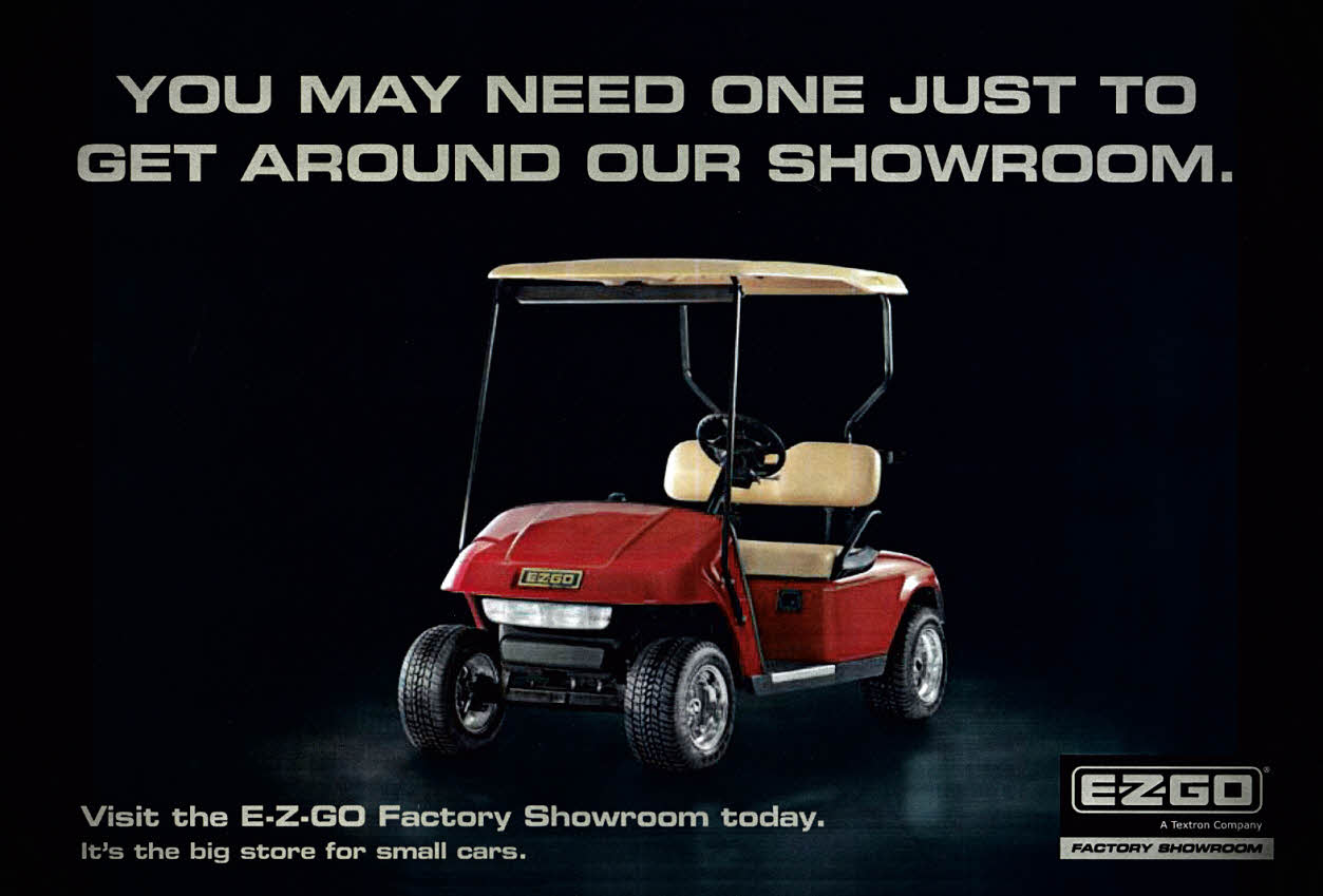 EZ-GO Showroom 849 J 80